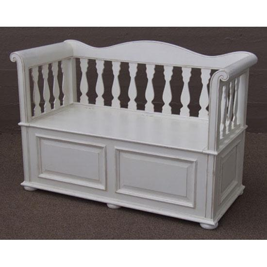 French Storage Bench Seat Classic Free Delivery Nz Wide
